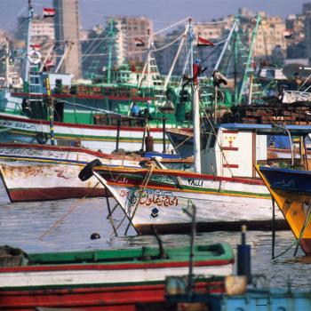 Egyptian port