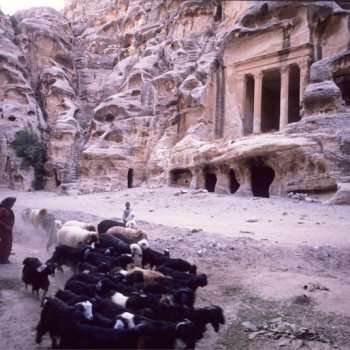 Ancient Nabataen tombs