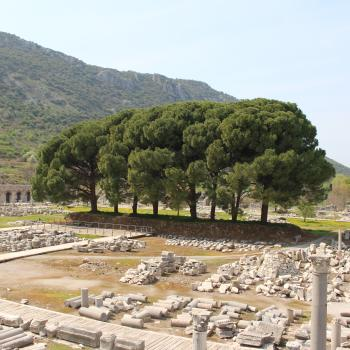 Ruins at the Ancient City of Ephesus