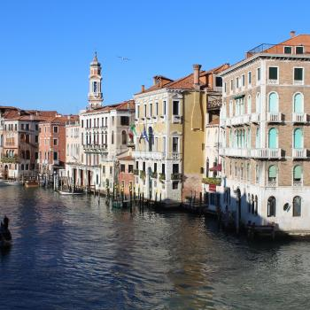 View from the Rialto Bridge, Venice