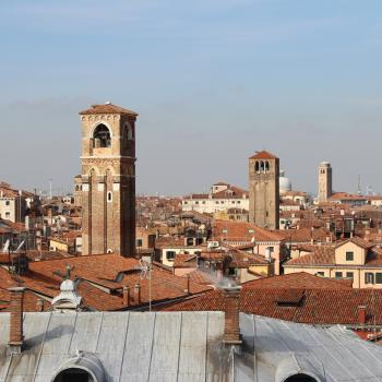 View of Three Bell Towers, Venice