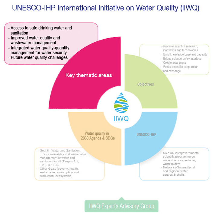 IIWQ Experts Advisory Group thematic area