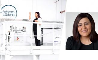 Niveen M. Khashab, laureate of 2017 L'Oréal UNESCO For Women in Science awards