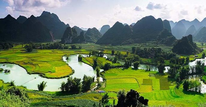 Cao Bang UNESCO Global Geopark, Viet Nam. © Pham Ngoc Khoa